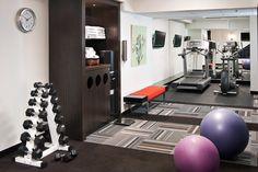 60 Cool Home Gym Ideas Decoration on a Budget for Small Room 4 – Home Design Workout Room Home, Gym Room At Home, Workout Rooms, Basement Gym, Basement Remodeling, Home Gym Flooring, Carpet Flooring, Flooring Ideas, Small Home Gyms