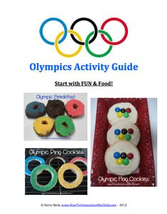 Olympics Activity Guide {Olympics Activities for Kids}
