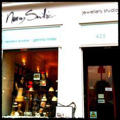 STOCKIST - Nancy Smillie Jewellery in Glasgow, www.stephenoneil.co.uk
