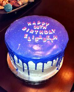 Purple Sparkle Birthday Cake.  Cake by: Bella Baby Cakes