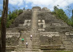 Lamanai features three large pyramids, a couple of residential areas, various restored stelae, and open plazas  Read more:
