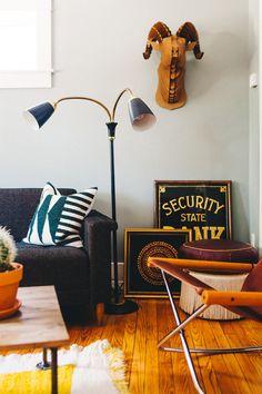 A Treasure Hunter's Home Full of Simple Comforts | Design*Sponge | Bloglovin'