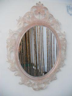 espejo resina