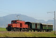 RailPictures.Net Photo: De 6/6 15301 OeBB Oensingen-Balsthal-Bahn De 6/6 at Wetzikon, Switzerland by Reinhard Reiss