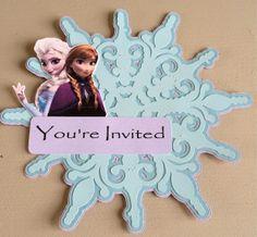 frozen birthday invitation wording - Google Search