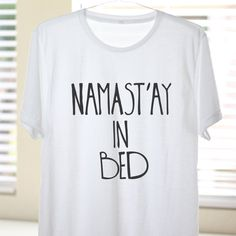 I sooo NEED this!!! <3 Namast'ay In Bed Namaste In Bed Namast'ay In Bed by ArimaDesigns