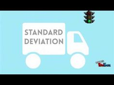 Standard Deviation - Explained and Visualized Math Skills, Math Lessons, Math Resources, Math Activities, Statistics Math, Math Help, Learn Math, Ap Psychology, Calculus