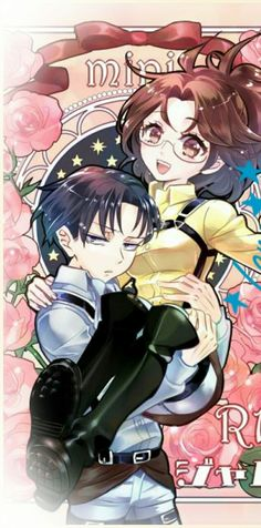 *giggles slightly and blushes, wrapping arms around your neck* Why're you carrying me, Levi?..