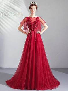 [Customer Made]Women's Full Dress Solid Color Lace High Waist Evening Dress Wedding Dress Brands, Wedding Dresses For Sale, Evening Dresses Online, Pant Suits, Formal Dresses, Lace, Beautiful Dresses, High Waist, Toast