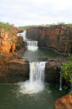 'It was Mother Nature at its ultimate just doing it's thing,' BIzzell said of Mitchell Falls in Western Australia Places Around The World, The Places Youll Go, Places To See, Around The Worlds, Western Australia, Australia Travel, Australian Holidays, Mitchell Falls, The Great Outdoors
