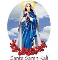 UMA LINDA CIGANA DO ORIENTE: SANTA SARA KALI, HISTÓRIA, VIDA E ORAÇÕES... Divine Mother, Mother Mary, Mary Magdalene, Patron Saints, Persecution, Durga, Just For Fun, Powerful Women, Wicca