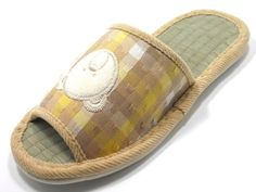 Knp26029tasian Tatami Indoor Slippers with Teddy Bearm78beige *** See this great product.