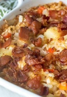 Aloha Chicken & Rice Bake