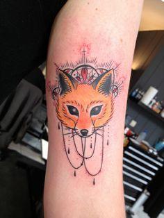 Fox Tattoo by San at Deuil Merveilleux