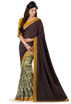 #elegant #partywear #sarees in Rs.1699/- buy now: http://fabyroots.com/sarees