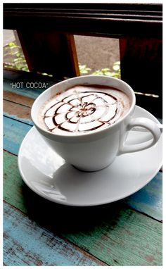 Cocoa, Food And Drink, Tableware, Hot, Dinnerware, Tablewares, Theobroma Cacao, Hot Chocolate, Dishes