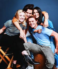 Riverdale cast - back on January 17th