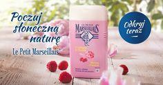 Zakochaj się w wyjątkowych zapachach żeli pod prysznic Le Petit Marseillais. Shampoo, Soap, Personal Care, Bottle, Peony, Self Care, Personal Hygiene, Flask, Bar Soap