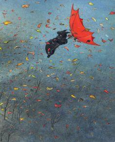 "Ingrid and Dieter Schubert, ""The Umbrella"""