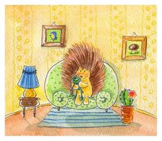 Julia Kelyukh_cute Illustrations