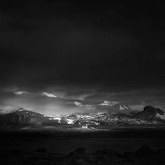 Andy Lee. Breathtaking Black And White Photos Of Icelandic Landscapes - UltraLinx