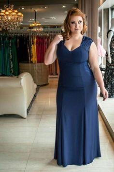 Beautiful Plus Size & Curvy Ladies Plus Size Looks, Curvy Plus Size, Plus Size Model, Plus Size Party Dresses, Evening Dresses Plus Size, Plus Size Fashion Tips, Plus Size Beauty, Dress Skirt, Prom Dresses