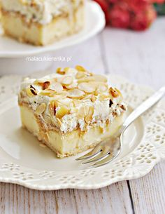 Torta puding a banánnal készült kekszekről - RECIPE - MC Orange Zest Cake, Yummy Treats, Delicious Desserts, Polish Recipes, Almond Recipes, No Bake Cake, Sweet Recipes, Cookie Recipes, Food And Drink