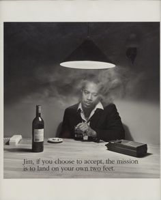 Jim, if you choose to accept..., 1988—1989  by Carrie Mae Weems.  Art Experience:NYC  http://www.artexperiencenyc.com/social_login