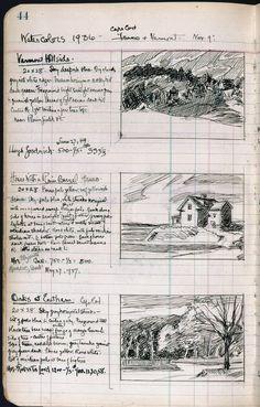Edward Hopper's sketchbook #1