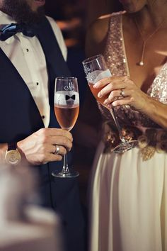 Bride and Groom Toast, from The Big Fake Wedding Los Angeles 2015