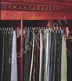 Tie And Belt Racks Are A Necessity For Every Closet Factory Closet. We  Custom Make