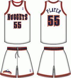 1ee92e4dd Denver Nuggets Home Logo on Chris Creamer s Sports Logos Page - SportsLogos.  A virtual museum of sports logos
