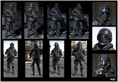 Call of Duty MW3 © Activision / Infinity Ward -------- Jake Rowell = Character Art  & Marketing Image /  Taehoon Oh, Peter Chen, Gennady Babichenko = Weapon Art