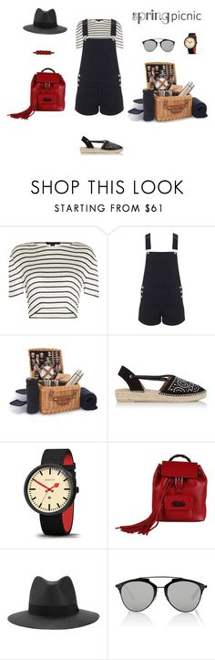 """Spring Picnic"" by sebolita ❤ liked on Polyvore featuring Alexander Wang, Miss Selfridge, Picnic Time, Kanna Shoes, Newgate, Gucci, rag & bone, Christian Dior and SerpentSea"