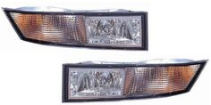 Cadillac Escalade Replacement Fog Light Assembly - 1-Pair OE replacement fog light - pair(2-pic) - DOT/SAE certified. Exact replacement for OEM #10383562 & #10383563. Fog light assembly - lens, housing, socket, and bulb included. Special coating on the lens surface prevents hazing and fading, ensuring proper illumination and operational safety.  #Unknown #Automotive_Parts_and_Accessories