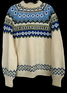 Label: Norse Knit, Hand knitted in Norway