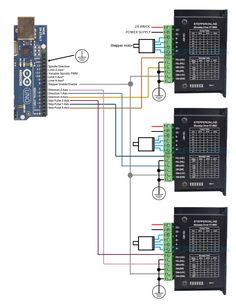3921872cede679d4a97bfc041ac8043e wiring db25 1205, dq860ma driver, dq542ma driver cnc pinterest grbl 1.1 wiring diagram at readyjetset.co