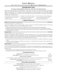 Retail Executive | sell. | Pinterest | Sample resume, Executive ...