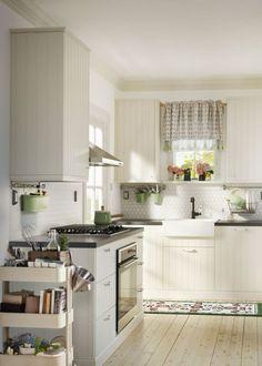 cuisine ikea hittarp blanc - Recherche Google