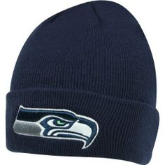 ec13f6f24 Men s  47 Brand Seattle Seahawks Cuffed Knit Hat One Size Fits All by  47