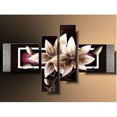 Risultati immagini per imagenes de cuadros modernos Multiple Canvas Paintings, Step By Step Painting, Closet Doors, Candle Sconces, Art Drawings, Canvas Art, Wall Lights, Butterfly, Frame