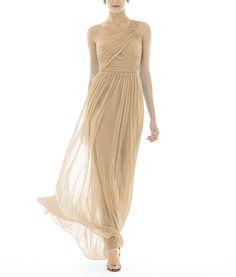 DescriptionAlfred Sung Style D691Fulllength bridesmaid dressOne shoulder…