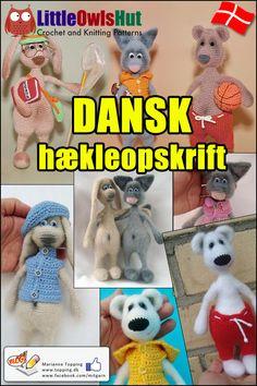 58c056607fe De 31 bedste billeder fra Hæklet | Little Owls Hut på DANSK i 2018 ...