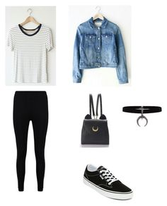 """""""Untitled #65"""" by vintage6739 on Polyvore featuring Boohoo, Vans and WithChic"""