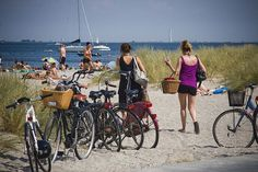 Beach Bicycle Parking | Flickr - Photo Sharing!