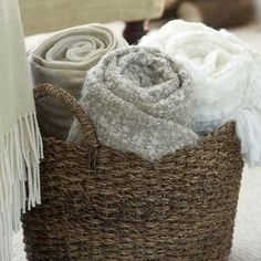 Trendy living room storage for blankets 60 ideas,Trendy living room storage for blankets 60 ideas Elegant Blanket Storage Ideas Among the easiest ways to warm up a room is by layering tex. Living Room Storage, Home Living Room, Living Room Designs, Blanket Basket, Basket For Blankets, Storing Blankets, Blanket Chest, Le Living, Blanket Storage