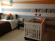 baby boy's cute monster room
