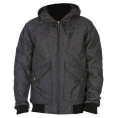Volcom Cavelier blouson à capuche houndstooth 169€ #jacket #blouson #veste #volcom #skateshop