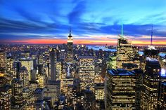 ImageFind images and videos about beautiful, gorgeous and sunset on We Heart It - the app to get lost in what you love. One Day I Will, Empire State Building, San Francisco Skyline, We Heart It, New York Skyline, Places To Visit, Wallpaper, City, Photography