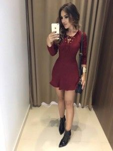 Outfits For Teens, Sexy Outfits, Trendy Outfits, Cute Outfits, Fashion Outfits, Fashion Clothes, Fashion Trends, Knit Dress, Dress Skirt